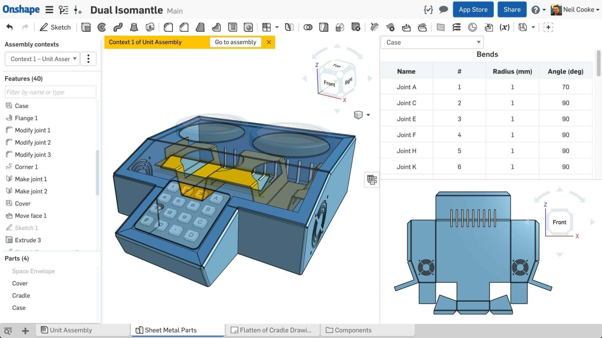 Image of Free 3D Modeling Software / Free 3D Design Software: OnShape