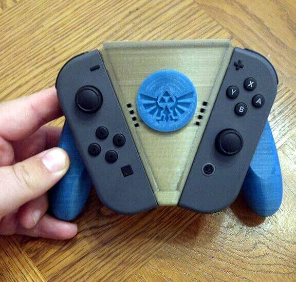 Image of Nintendo Switch Mods to 3D Print: Vangard Grip
